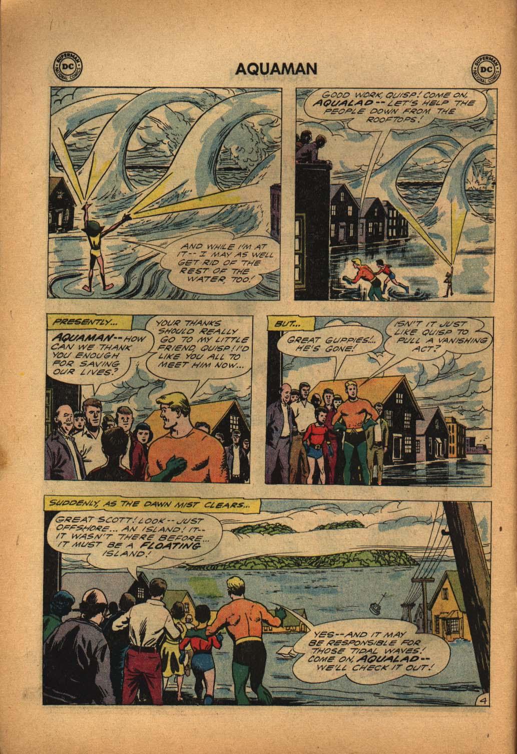 Read online Aquaman (1962) comic -  Issue #4 - 6