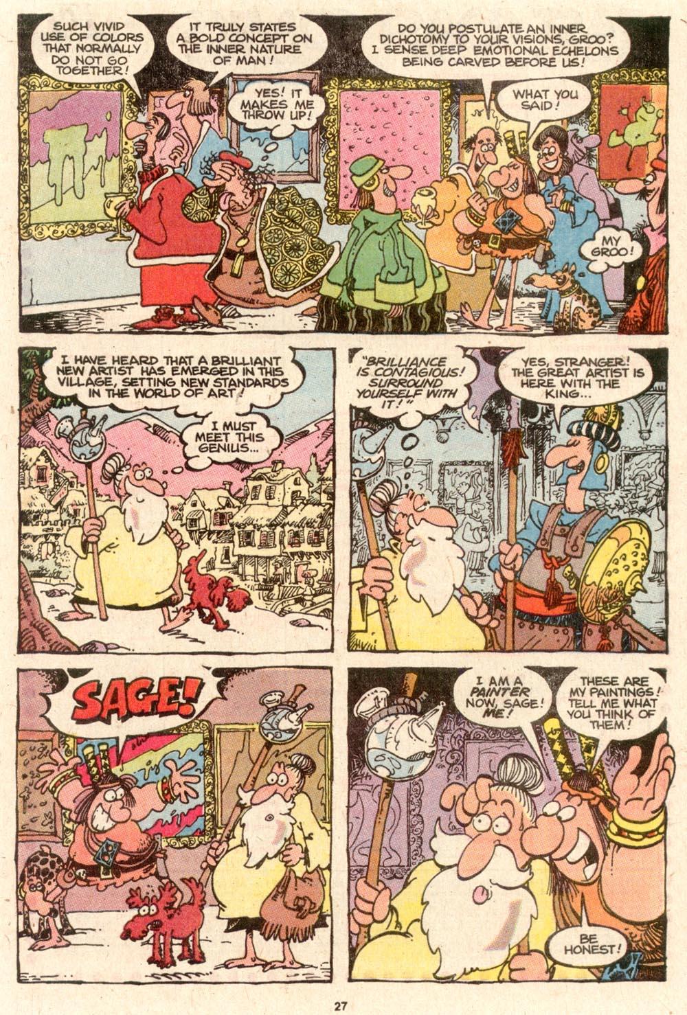 Read online Sergio Aragonés Groo the Wanderer comic -  Issue #64 - 21