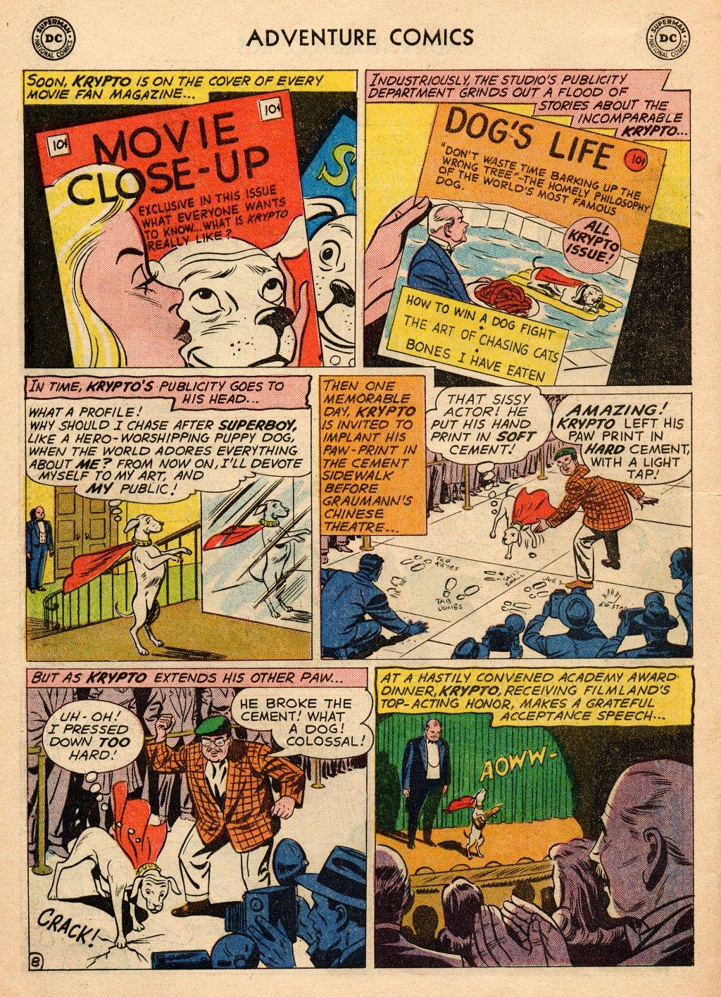 Read online Adventure Comics (1938) comic -  Issue #272 - 10