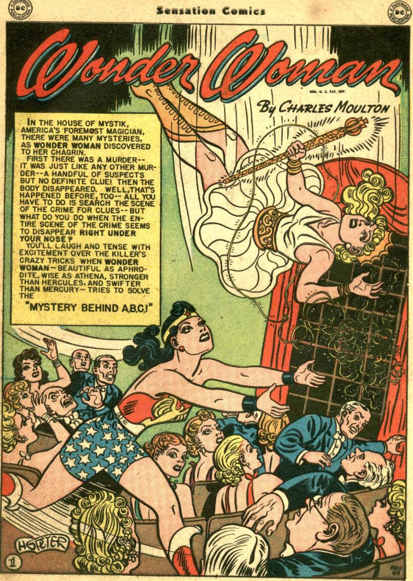 Read online Sensation (Mystery) Comics comic -  Issue #69 - 5