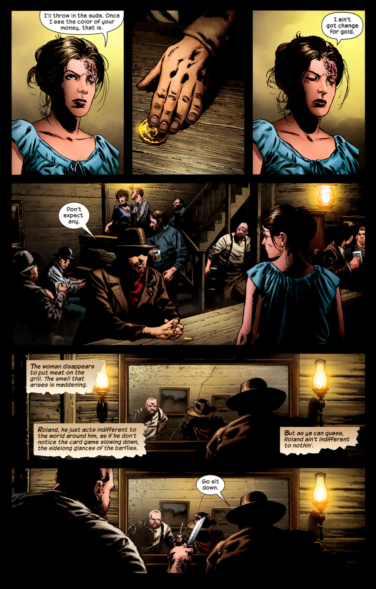 Read online Dark Tower: The Gunslinger - The Battle of Tull comic -  Issue #1 - 19