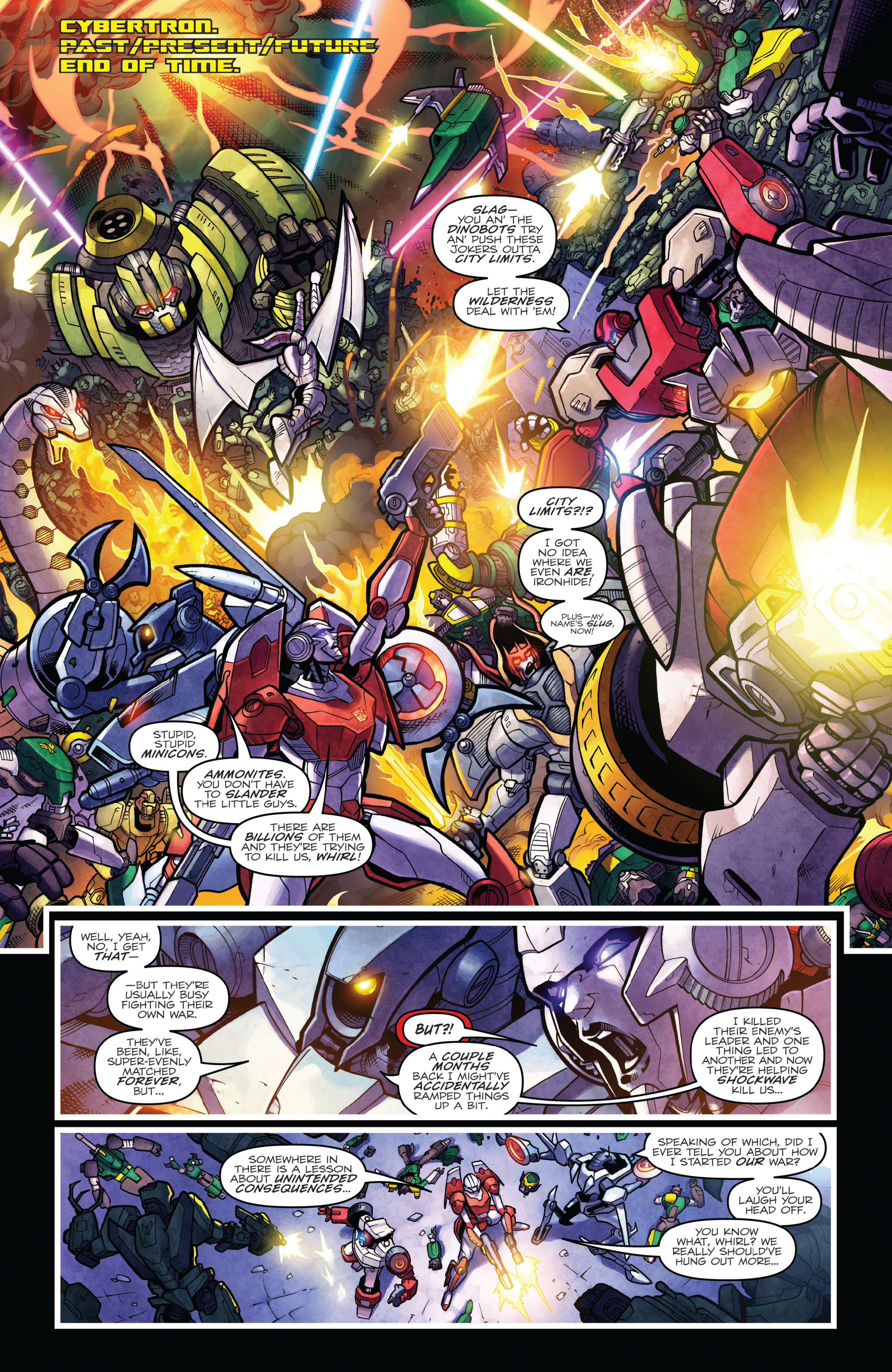 Read online The Transformers: Dark Cybertron Finale comic -  Issue # Full - 126