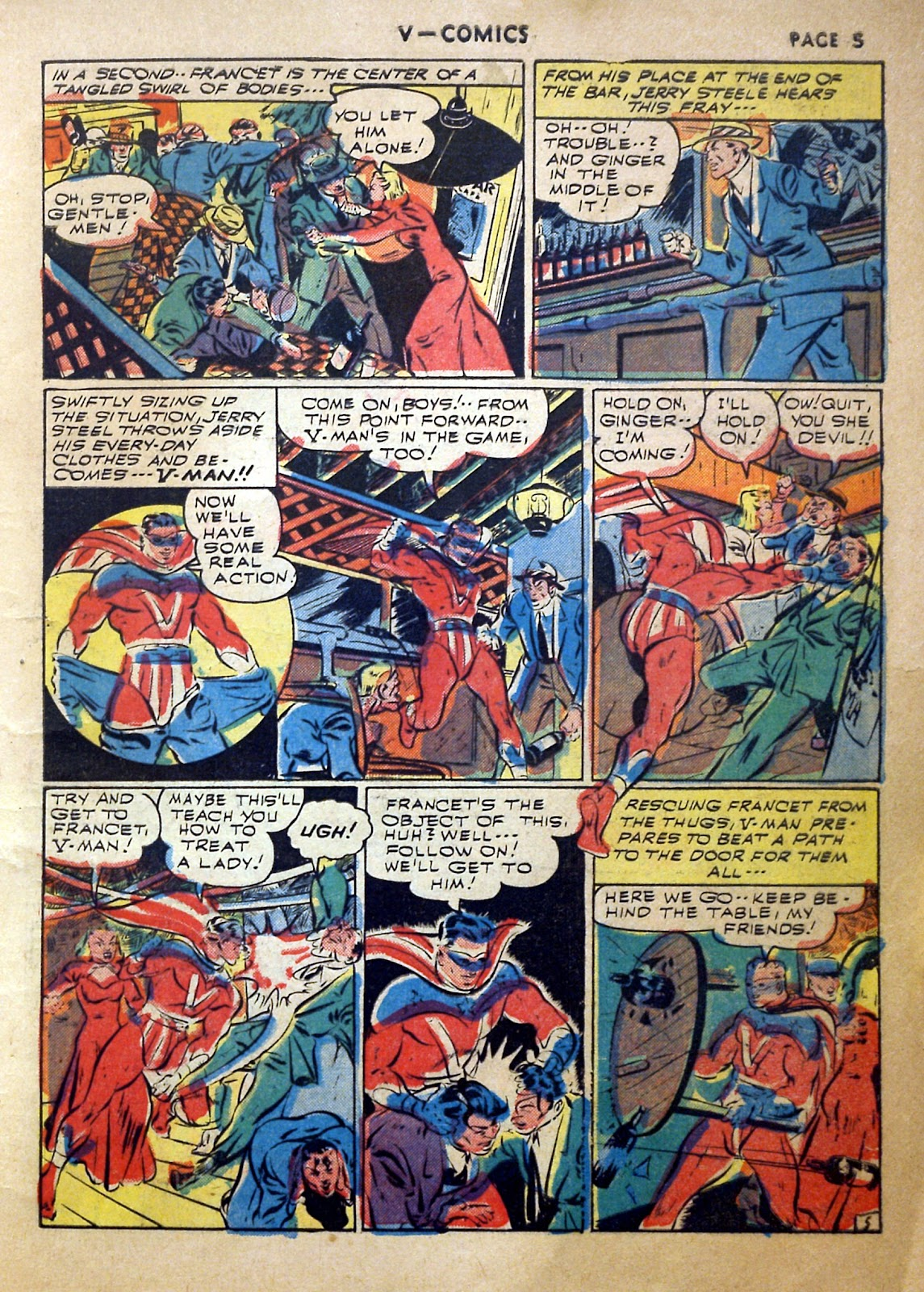 Read online V...- Comics comic -  Issue #2 - 6