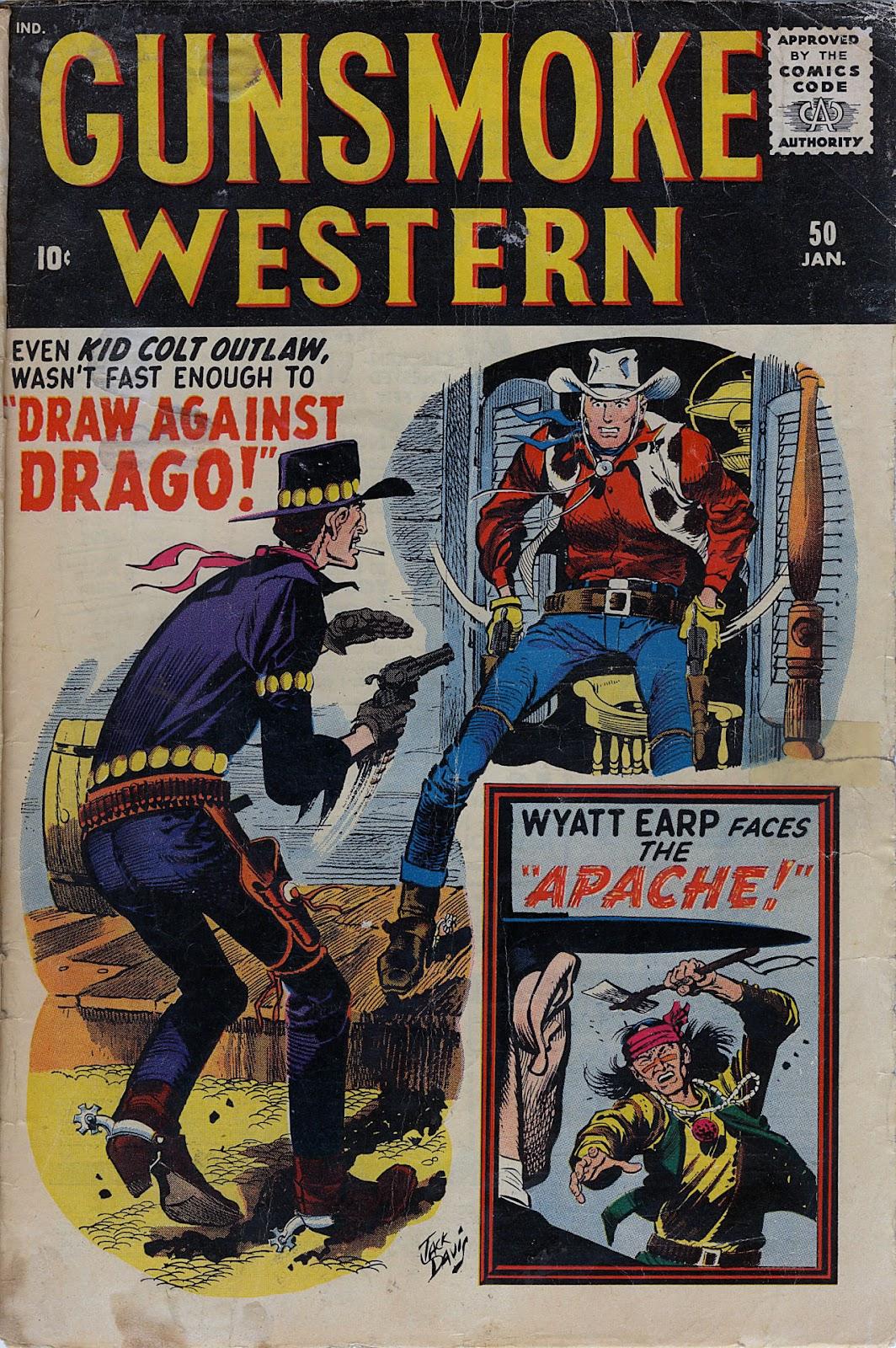 Gunsmoke Western issue 50 - Page 1