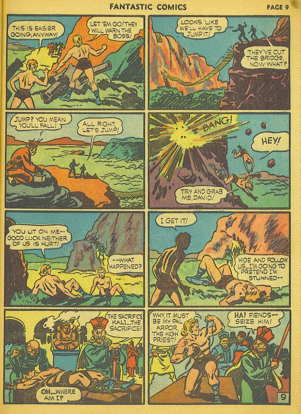 Read online Fantastic Comics comic -  Issue #15 - 62