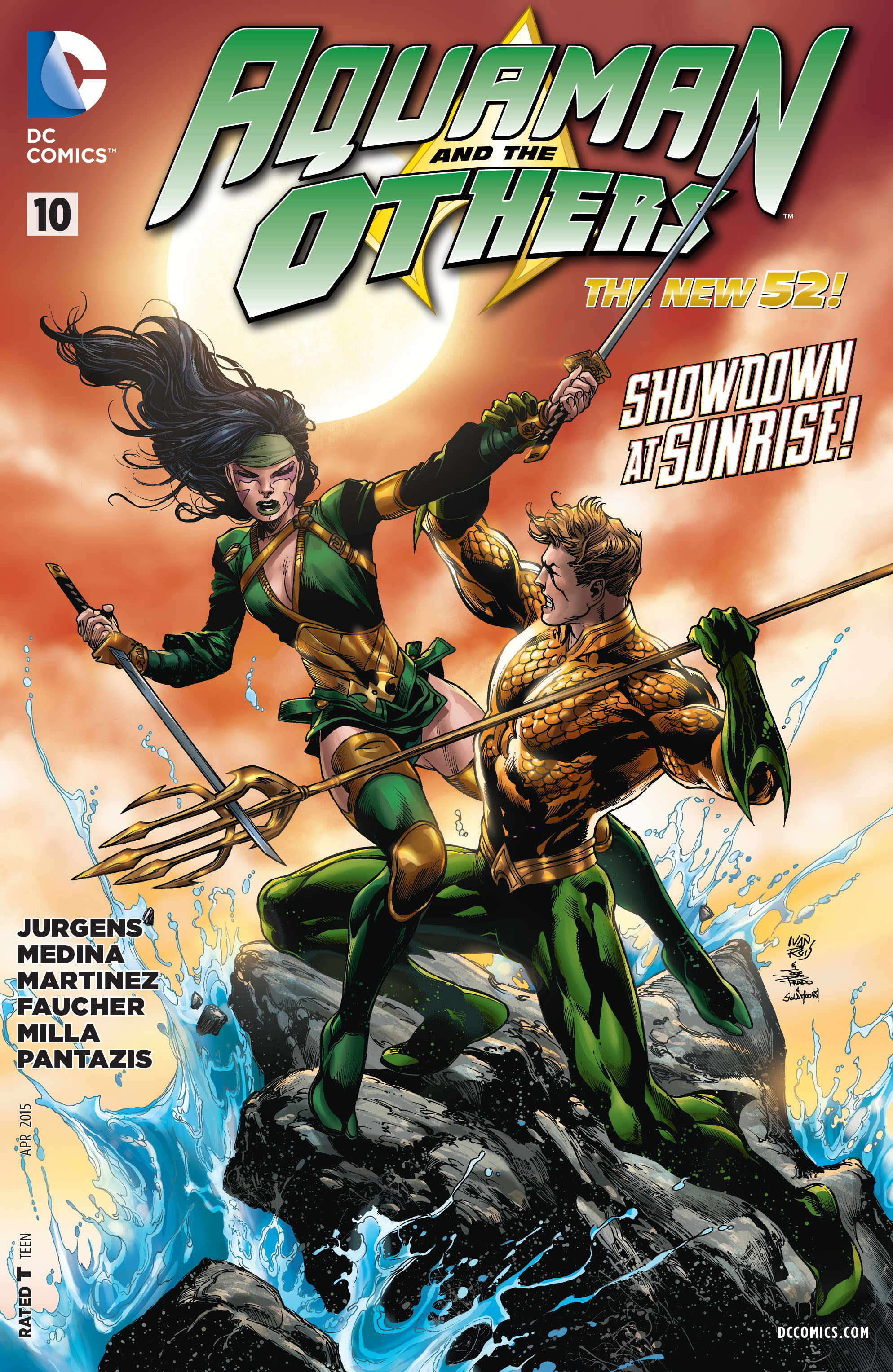 Read online Aquaman and the Others comic -  Issue #10 - 1