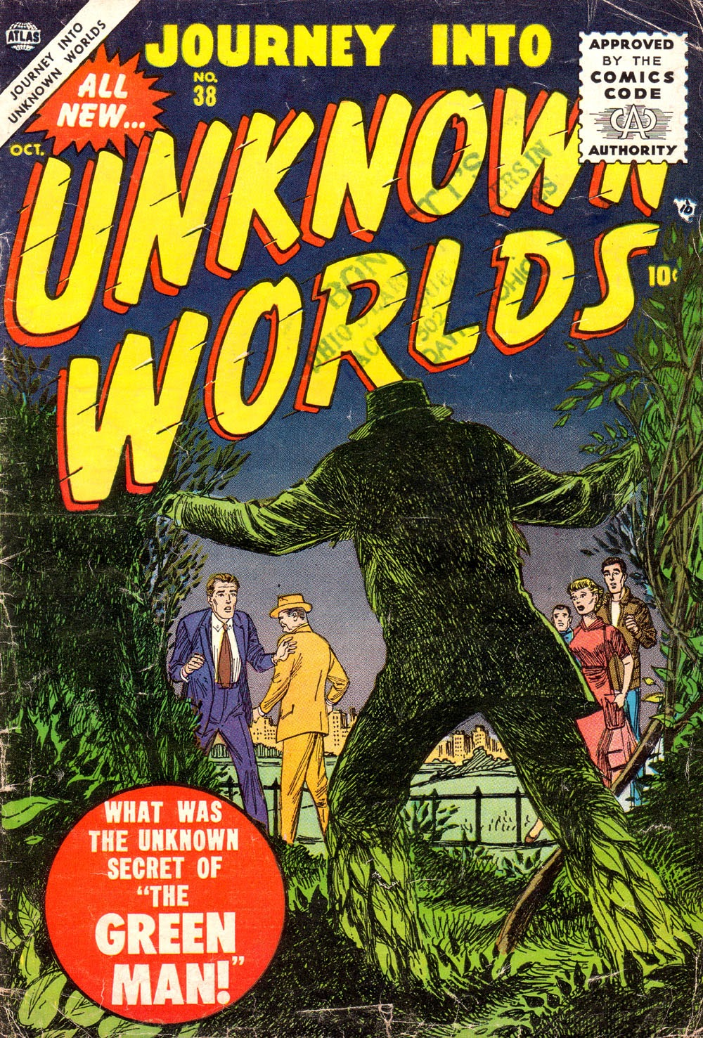 Journey Into Unknown Worlds (1950) issue 38 - Page 1