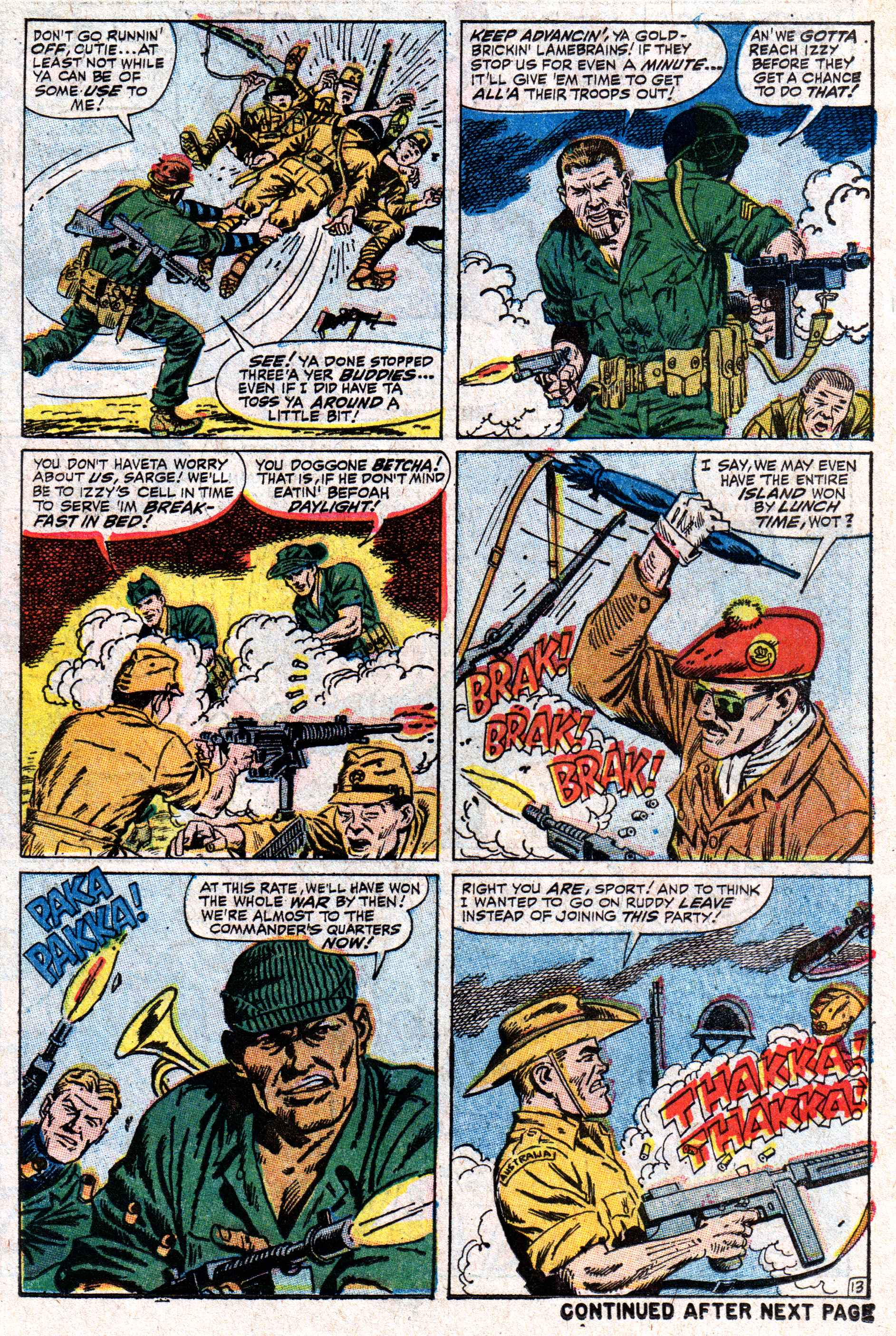 Read online Sgt. Fury comic -  Issue #50 - 18