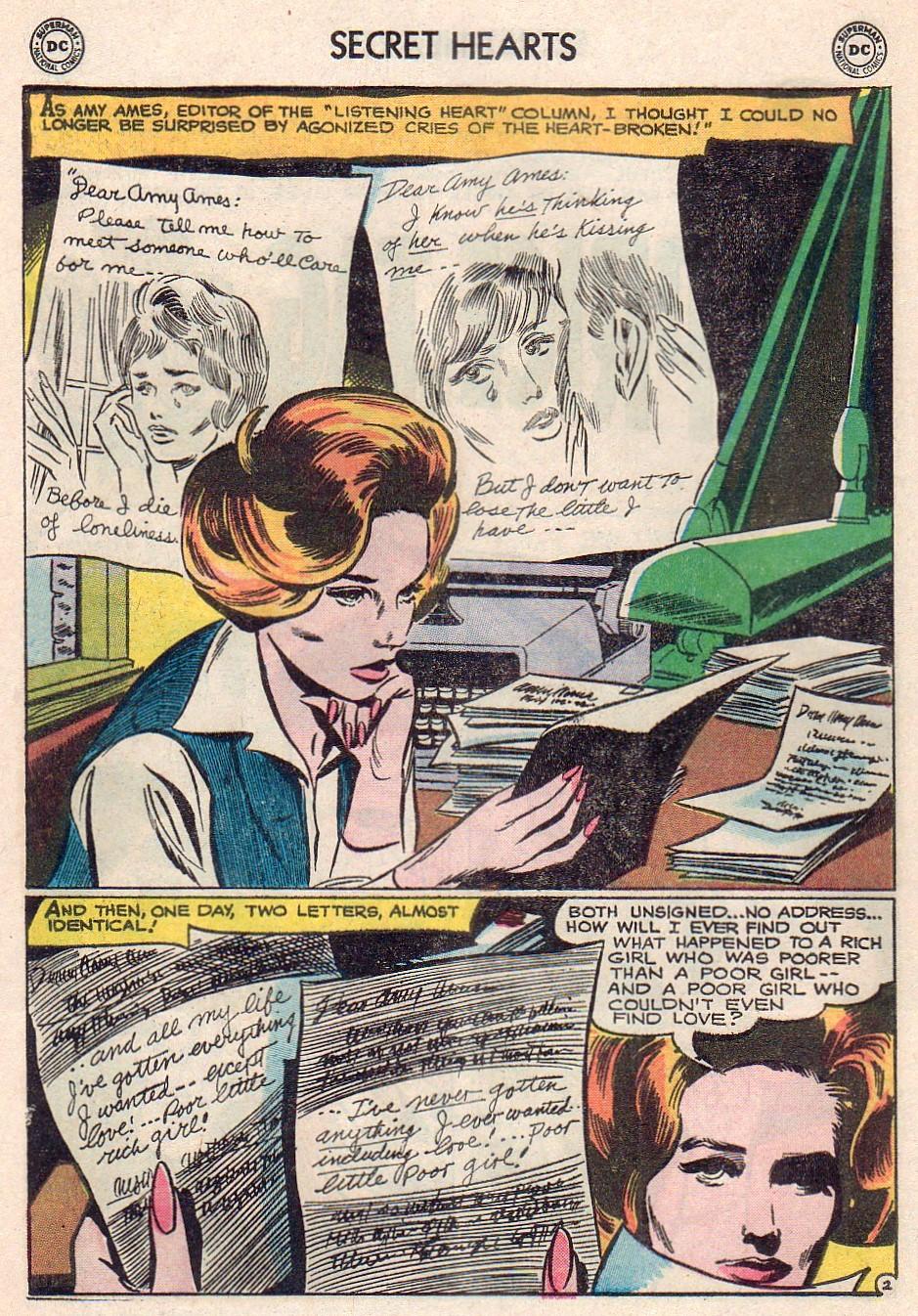 Read online Secret Hearts comic -  Issue #102 - 20