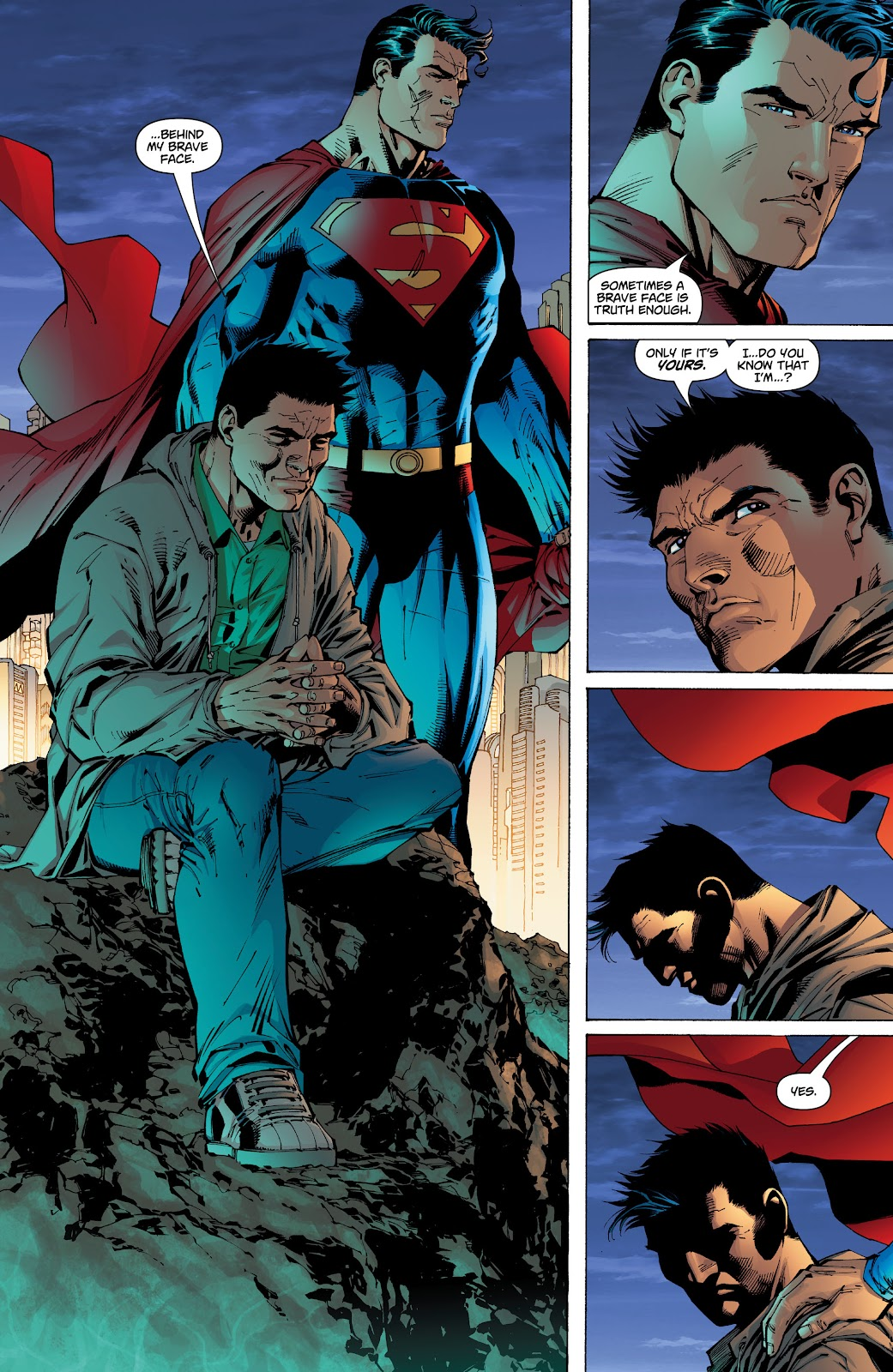 Read online Superman: For Tomorrow comic -  Issue # TPB (Part 2) - 34