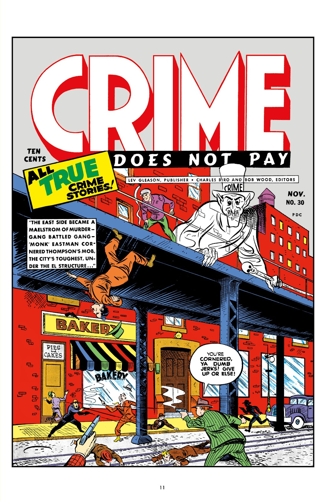 Read online Crime Does Not Pay Archives comic -  Issue # TPB 3 (Part 1) - 11