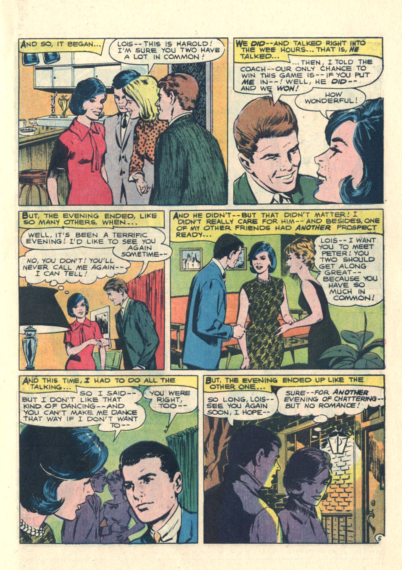 Read online Secret Hearts comic -  Issue #113 - 7