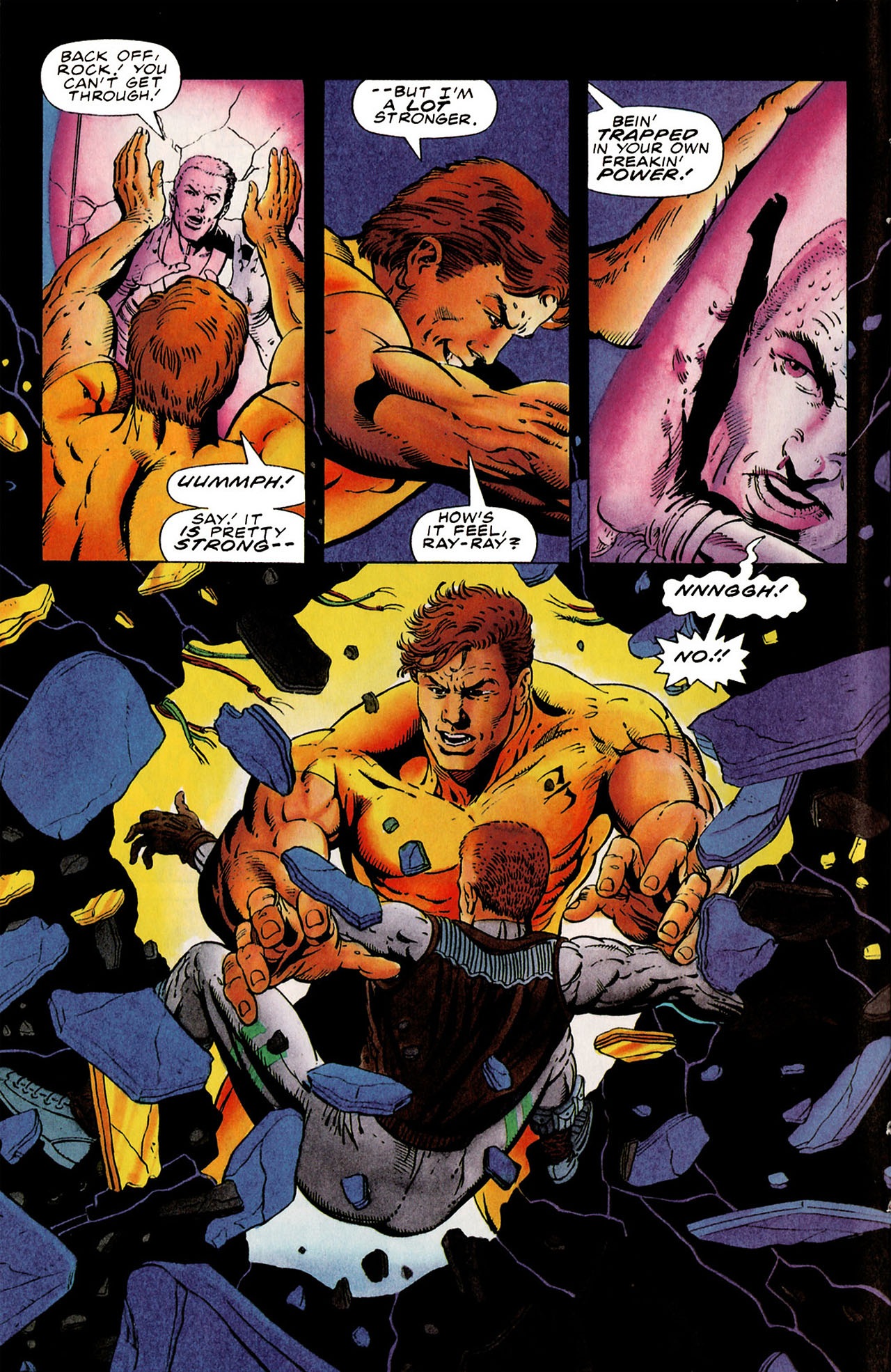 Read online Harbinger (1992) comic -  Issue #25 - 7