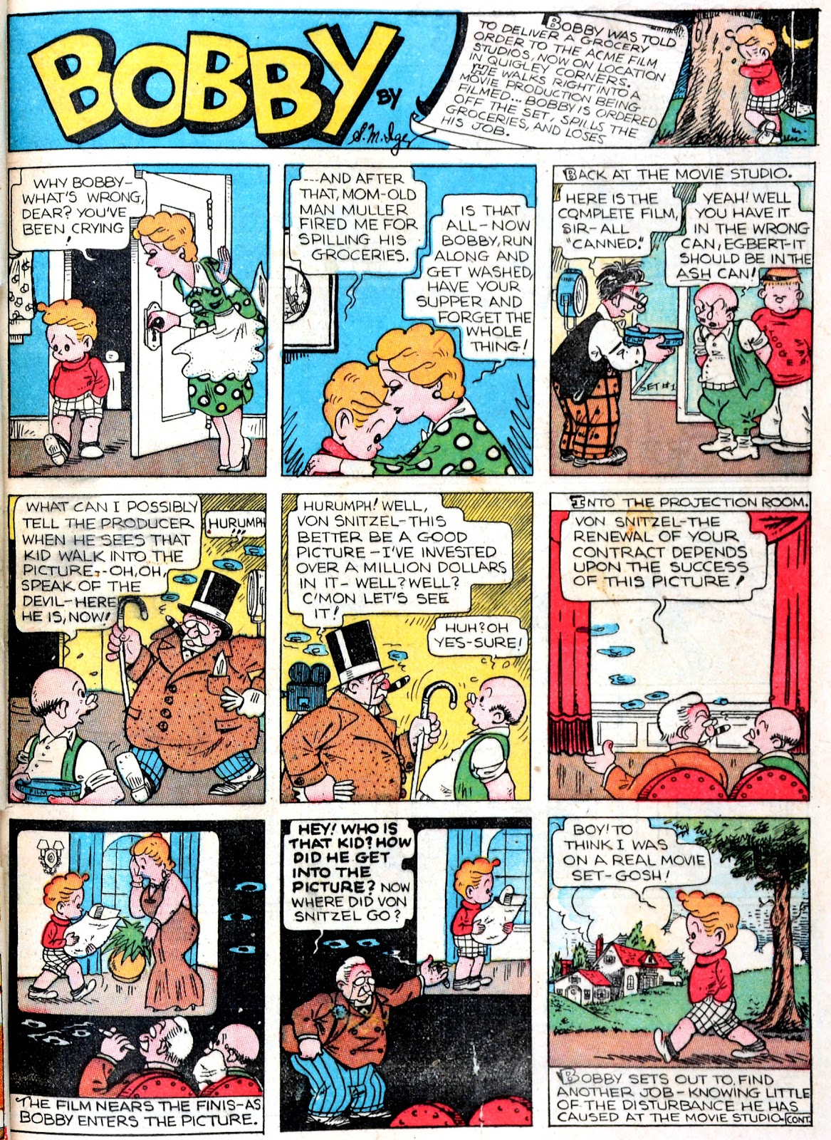 Read online Famous Funnies comic -  Issue #43 - 49