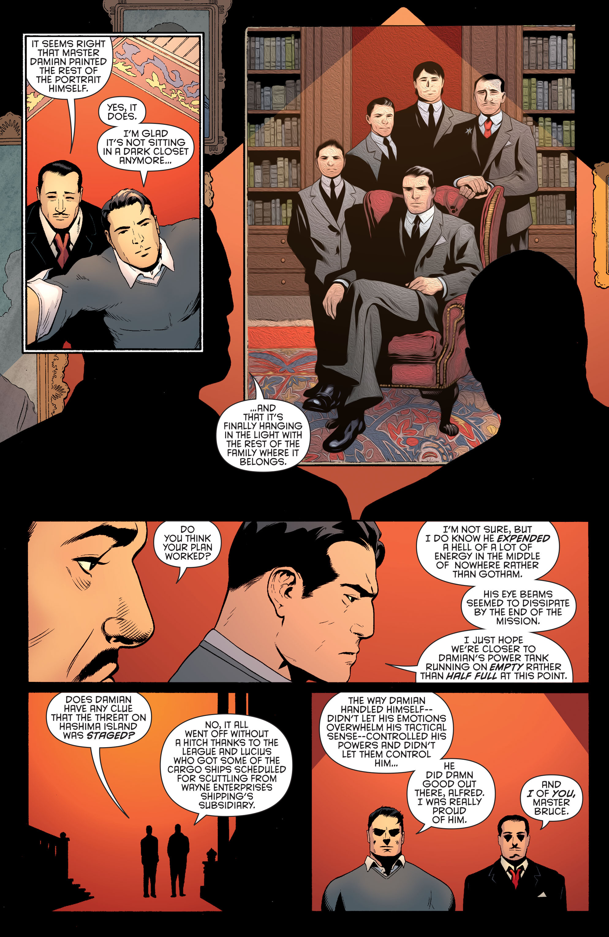 Read online Batman and Robin (2011) comic -  Issue #40 - 11