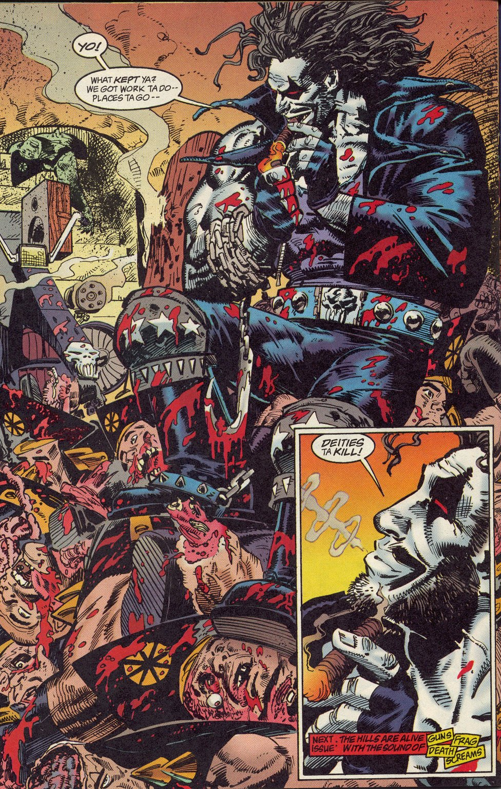 Read online Lobo: A Contract on Gawd comic -  Issue #1 - 25