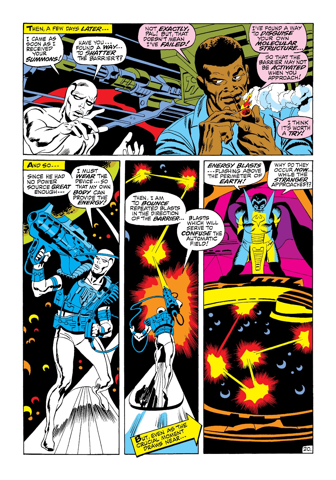Read online Marvel Masterworks: The Silver Surfer comic - Issue # TPB 1 (Part 2) - 88