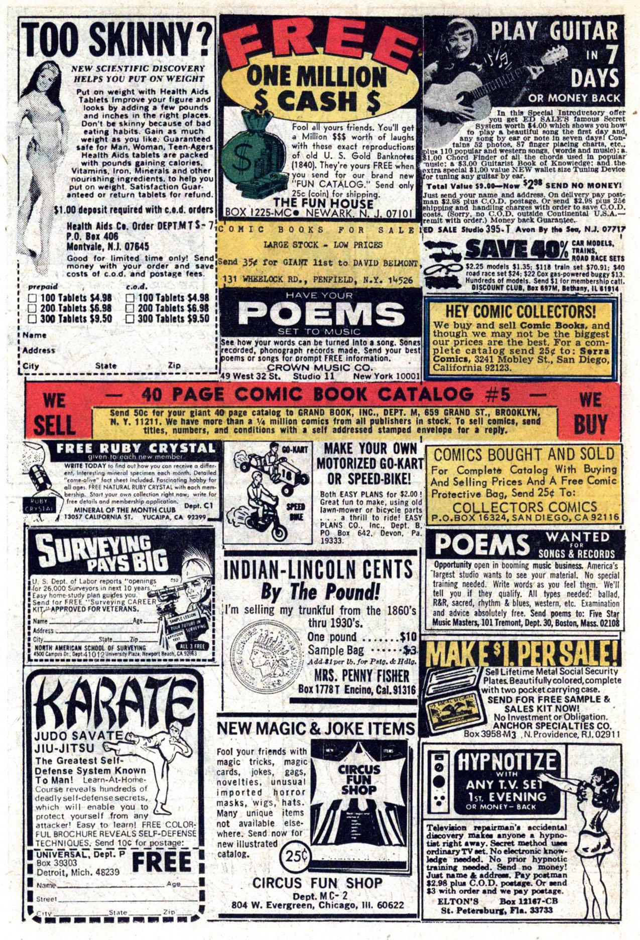 Read online Amazing Adventures (1970) comic -  Issue #23 - 25