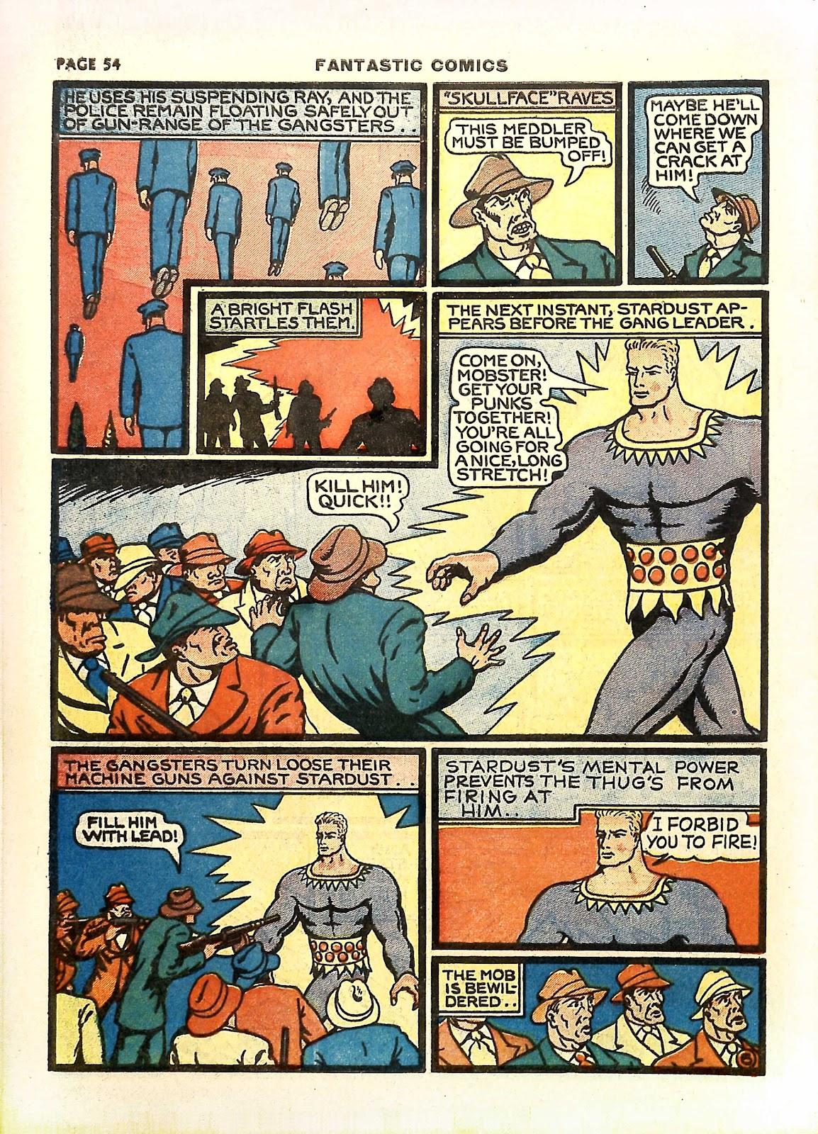 Read online Fantastic Comics comic -  Issue #11 - 57