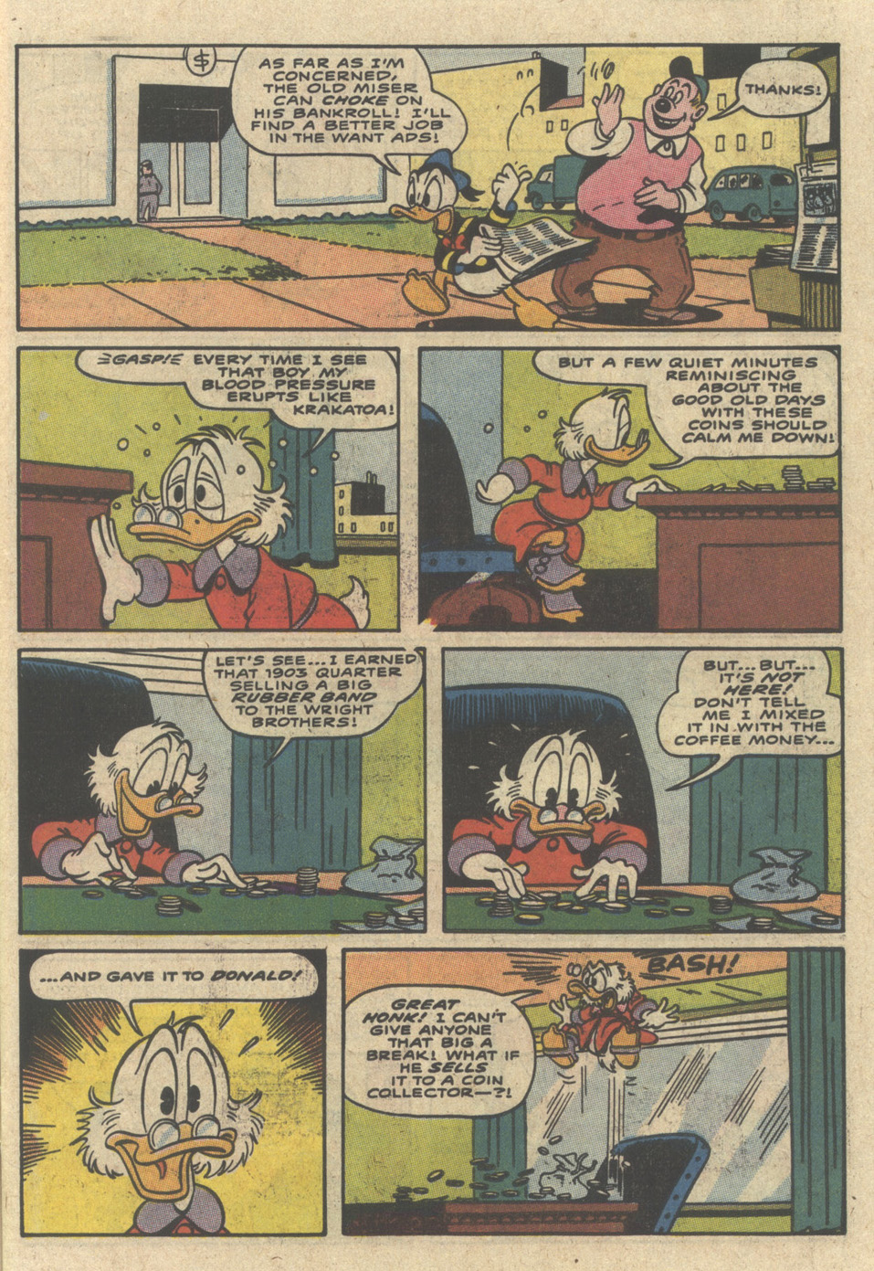 Read online Uncle Scrooge (1953) comic -  Issue #229 - 7