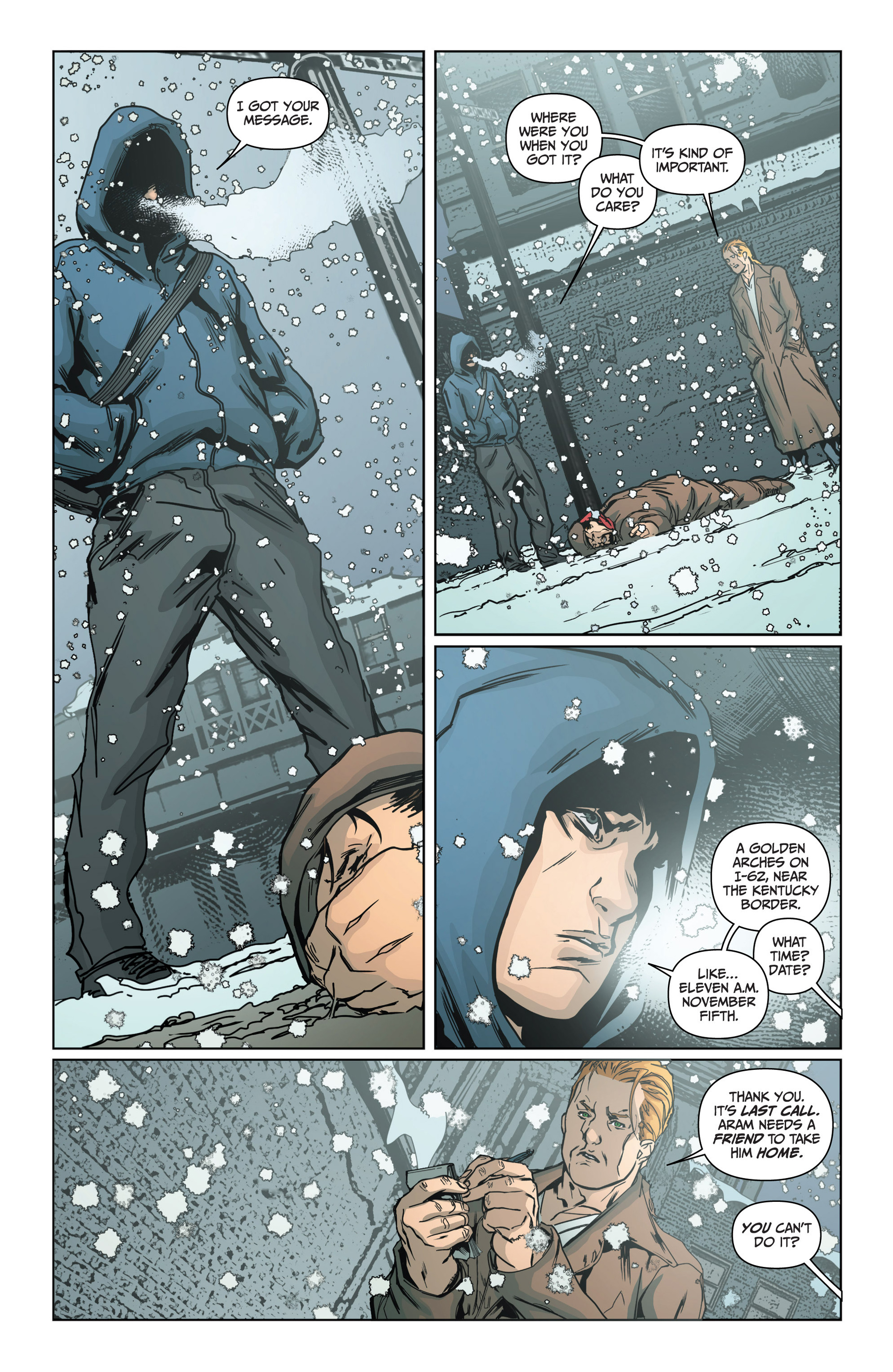 Read online Archer and Armstrong comic -  Issue #15 - 21