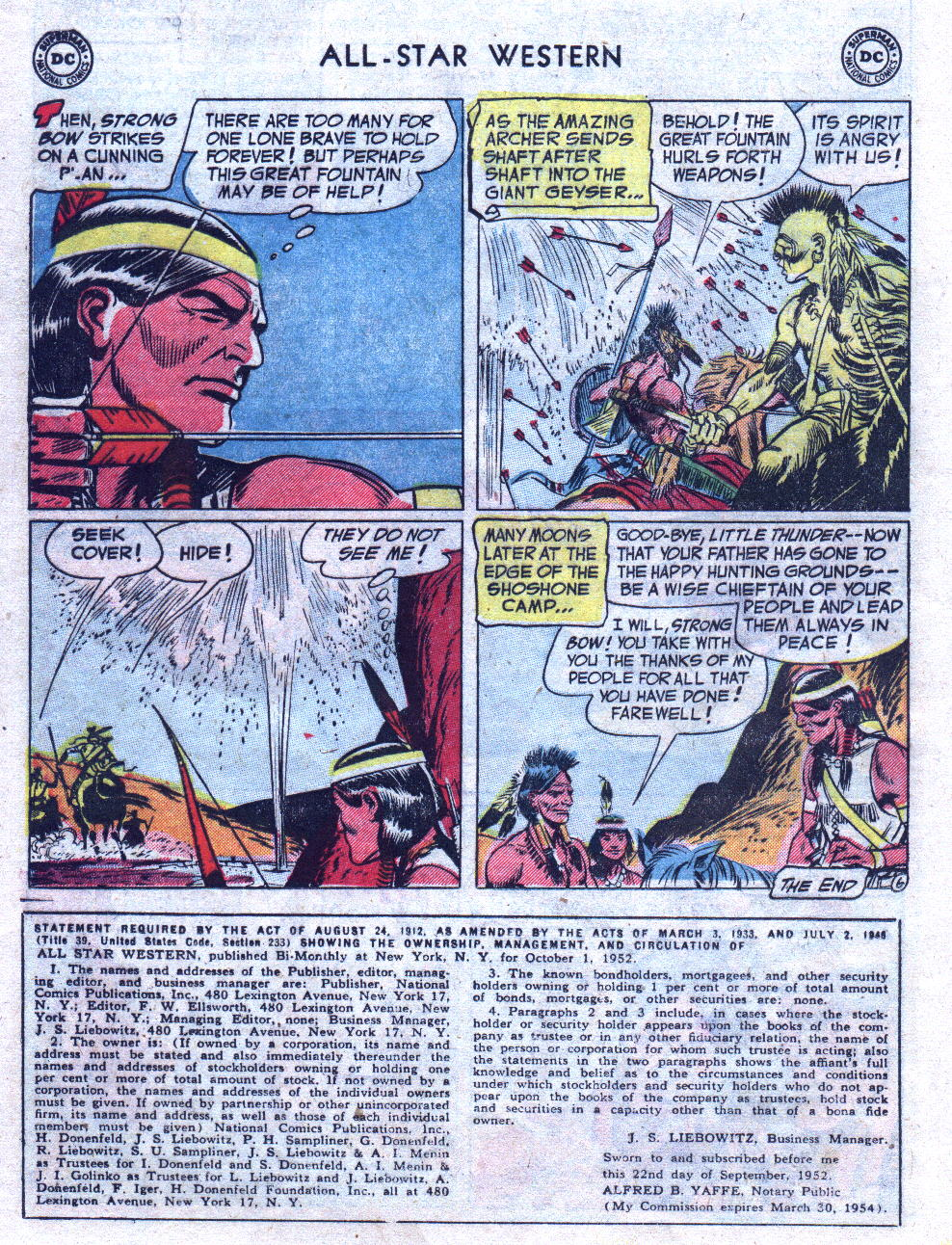Read online All-Star Western (1951) comic -  Issue #69 - 16