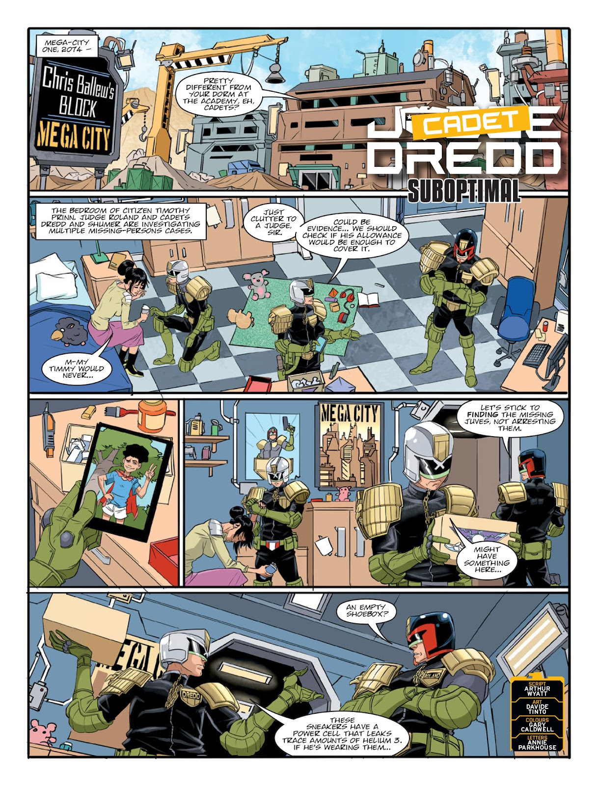 2000 AD issue 2220 - Page 3