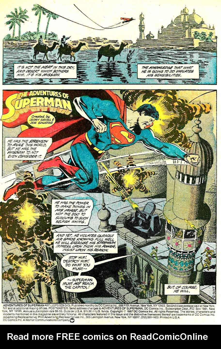 Read online Adventures of Superman (1987) comic -  Issue #427 - 2