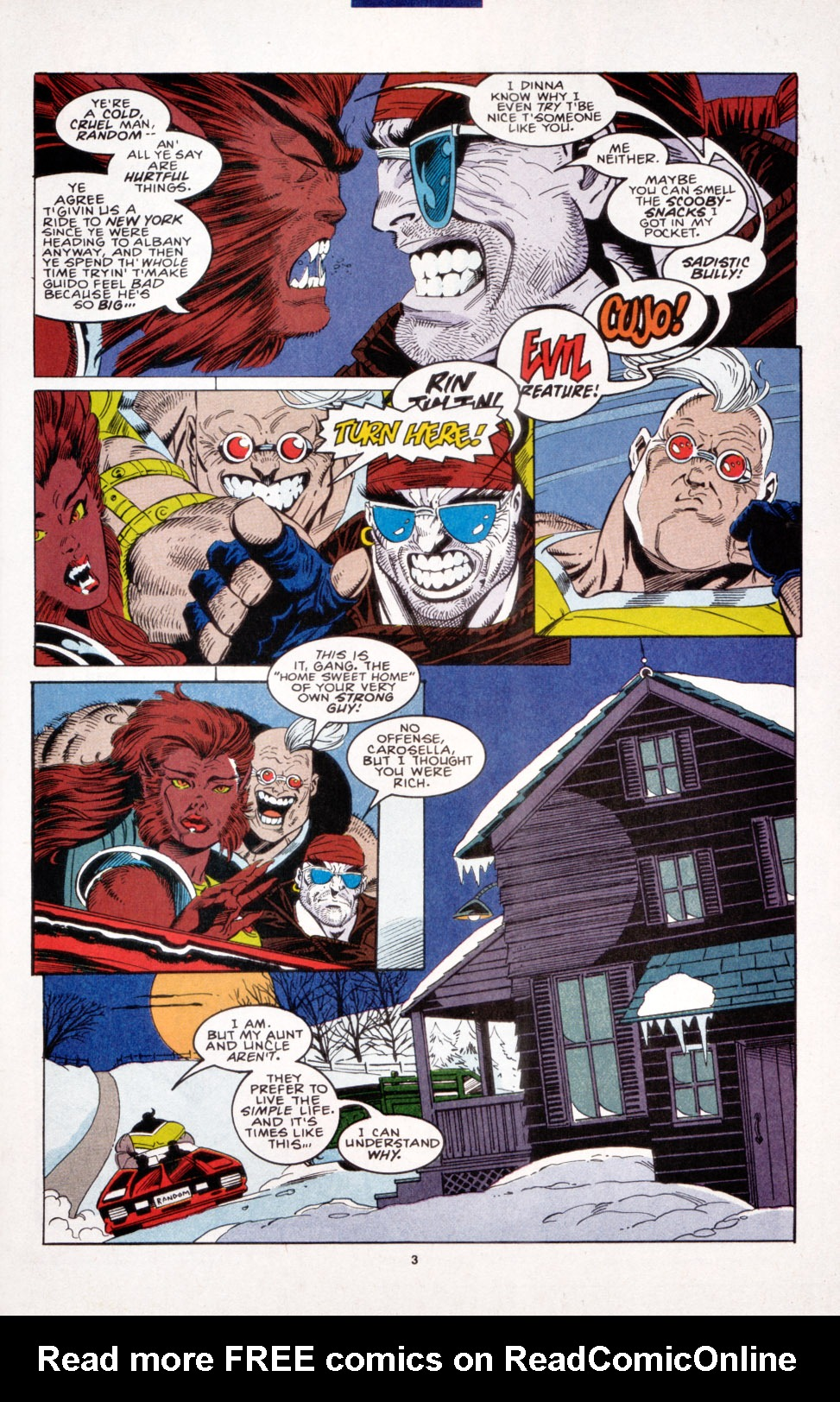 Read online X-Factor (1986) comic -  Issue #103 - 4