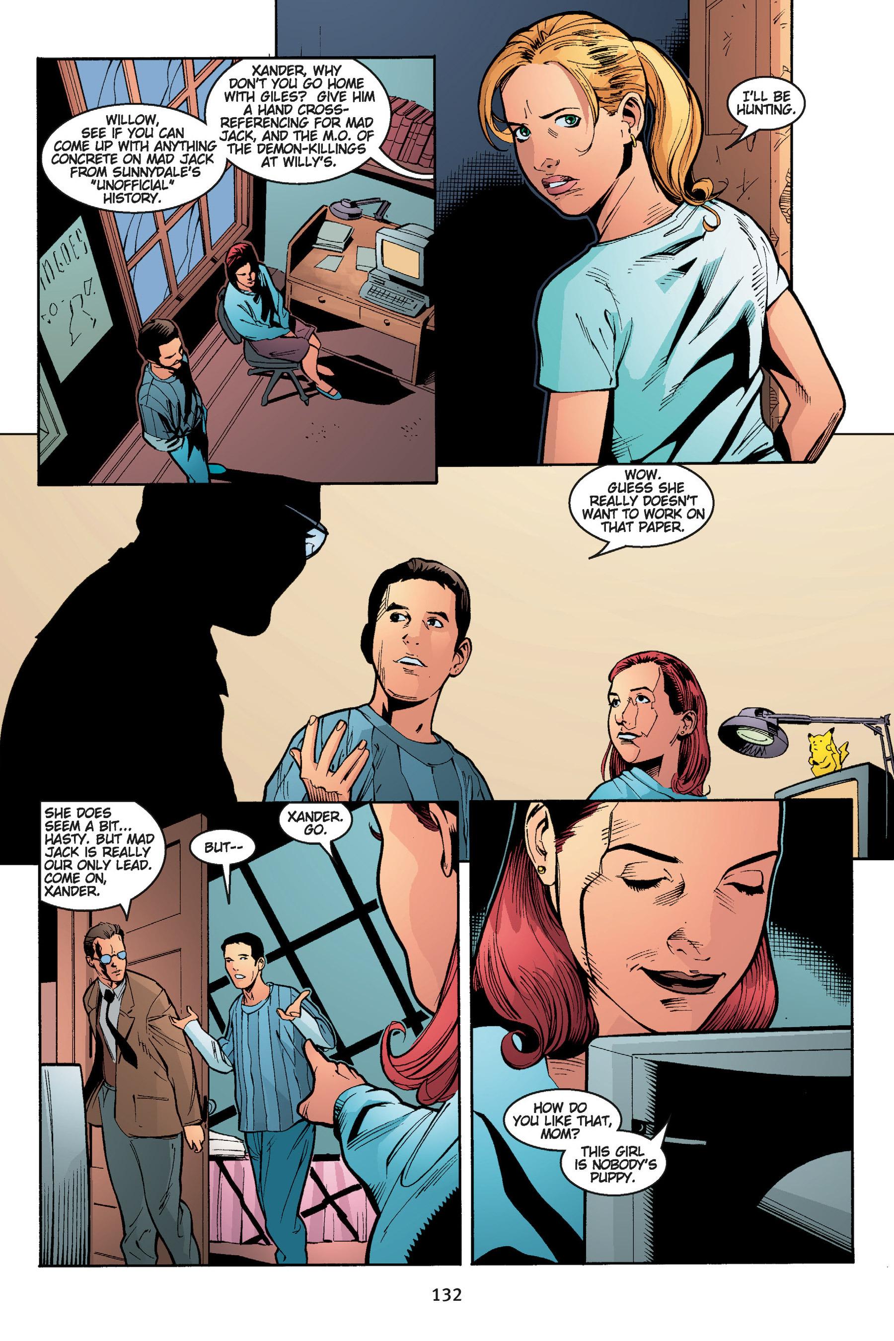Read online Buffy the Vampire Slayer: Omnibus comic -  Issue # TPB 5 - 132