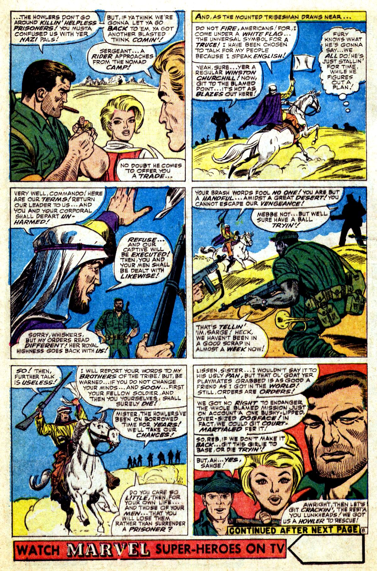 Read online Sgt. Fury comic -  Issue #37 - 12