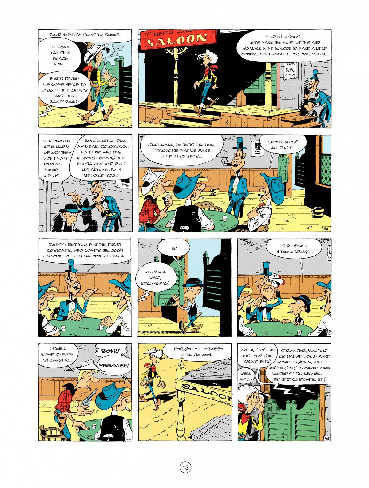 Read online A Lucky Luke Adventure comic -  Issue #2 - 15