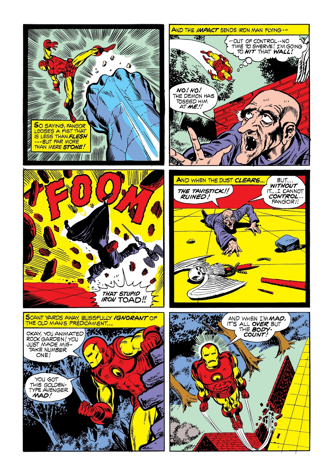 Read online Marvel Masterworks: The Invincible Iron Man comic -  Issue # TPB 9 (Part 1) - 61