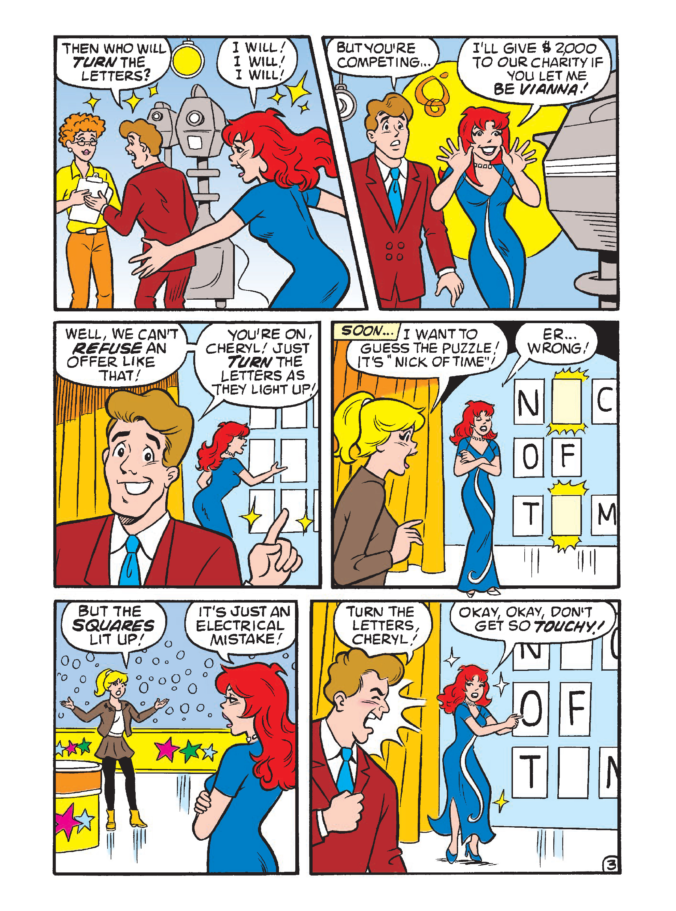 Read online Archie 75th Anniversary Digest comic -  Issue #5 - 129