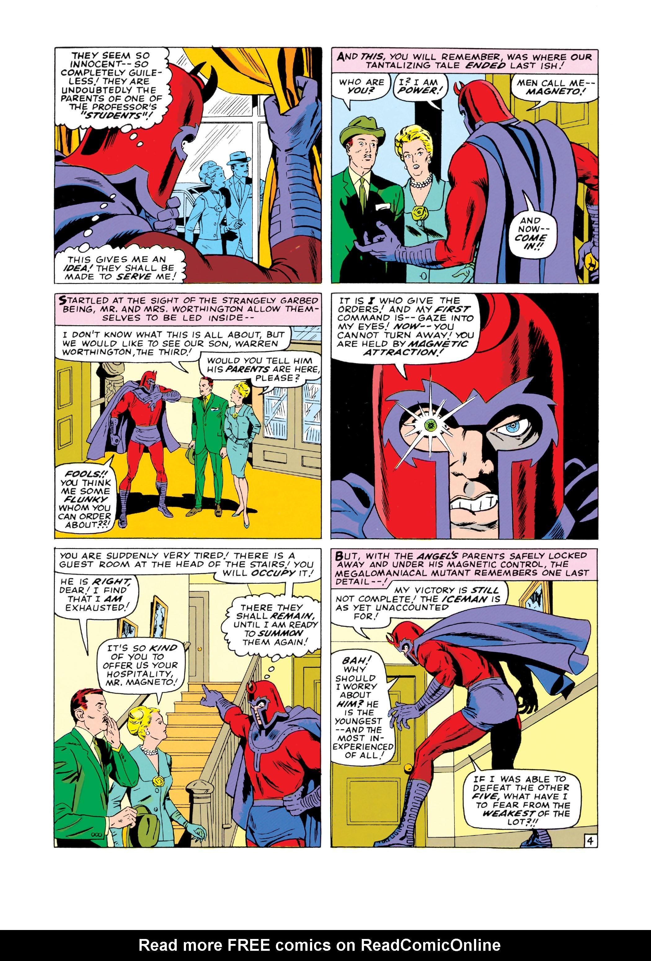 Read online Uncanny X-Men (1963) comic -  Issue #18 - 5