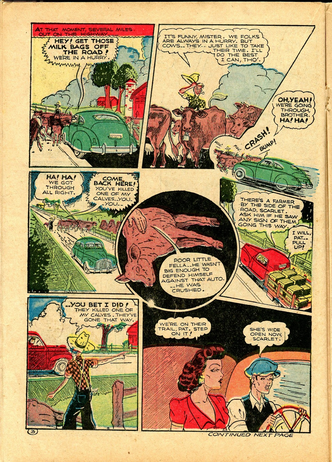 Read online Famous Funnies comic -  Issue #102 - 32
