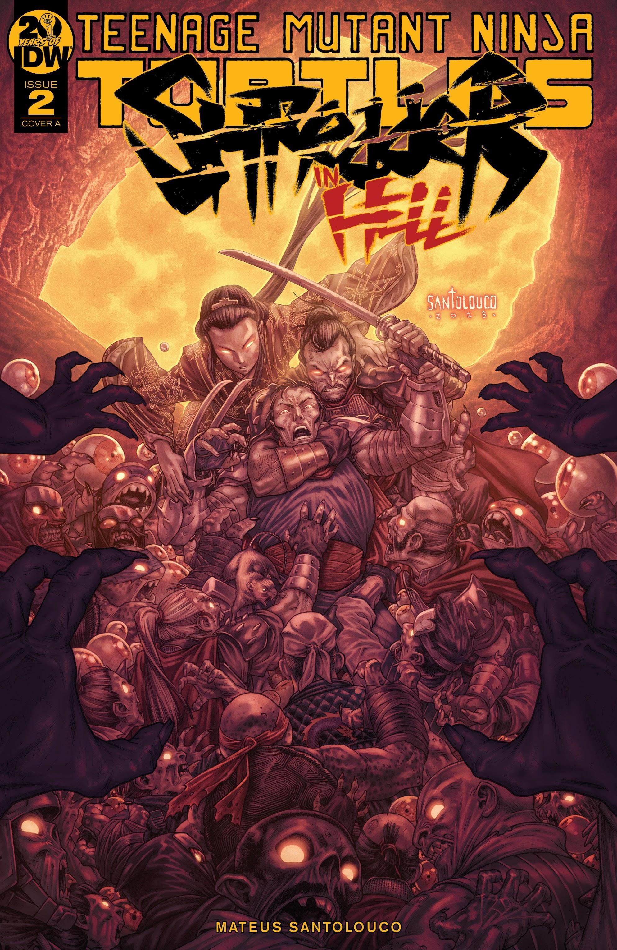 Teenage Mutant Ninja Turtles: Shredder in Hell 2 Page 1
