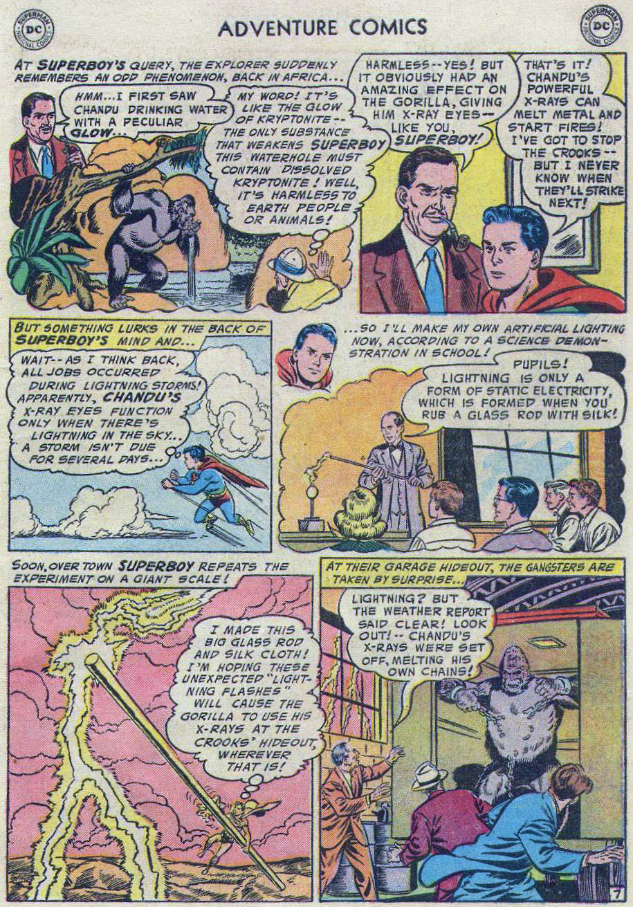 Read online Adventure Comics (1938) comic -  Issue #219 - 45