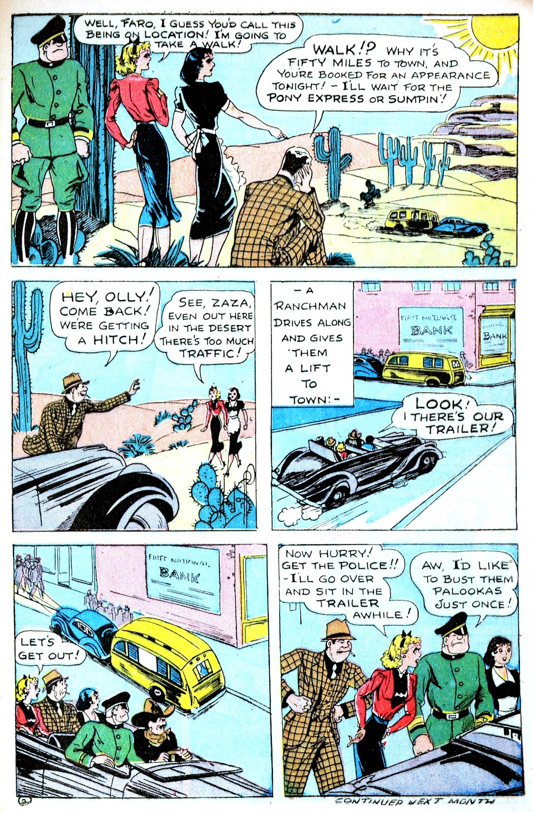 Read online Famous Funnies comic -  Issue #123 - 47
