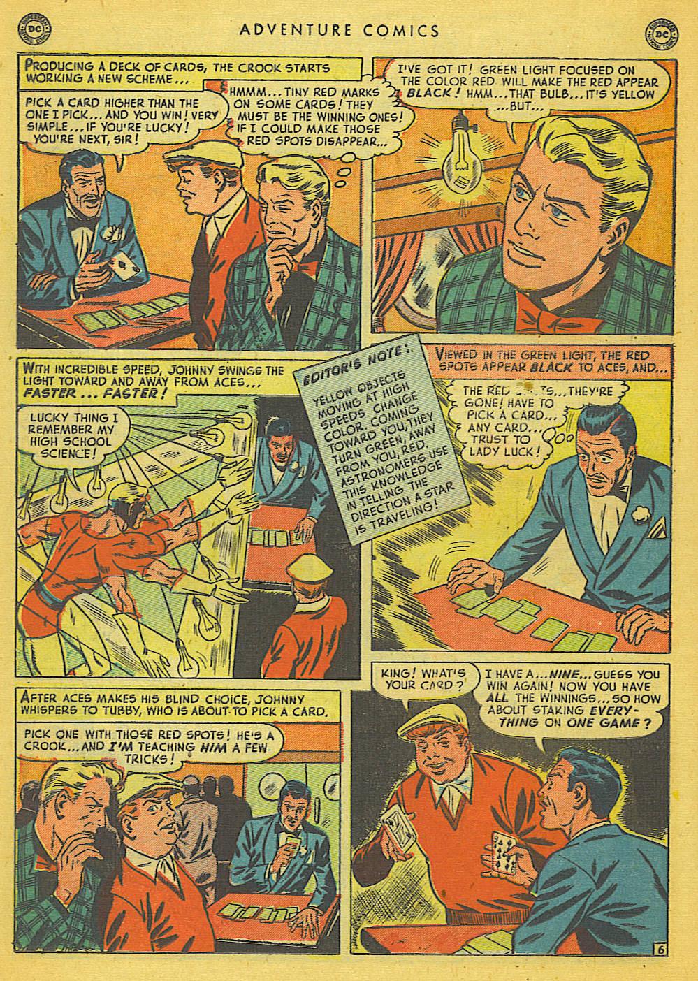 Read online Adventure Comics (1938) comic -  Issue #153 - 31