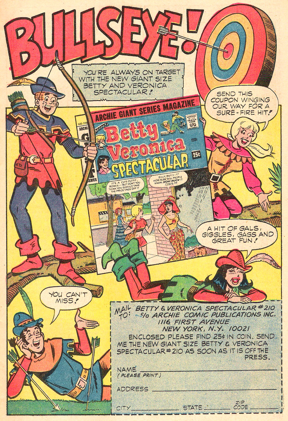 Read online Archie's Girls Betty and Veronica comic -  Issue #208 - 11