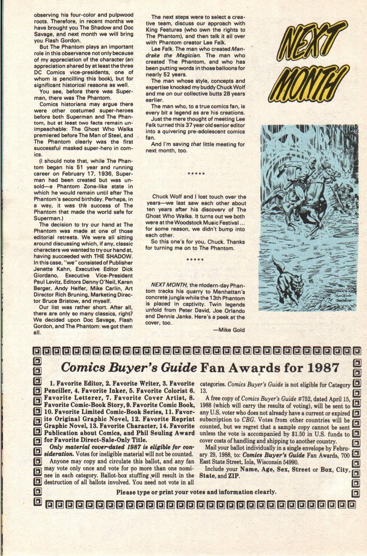 Read online The Phantom (1988) comic -  Issue #1 - 32
