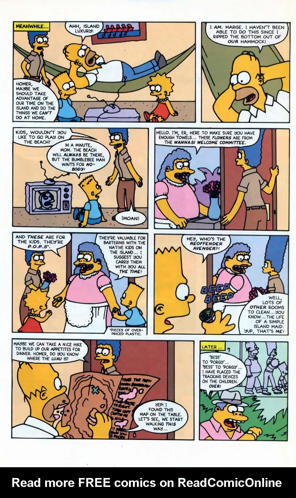 Read online Simpsons Comics comic -  Issue #10 - 12