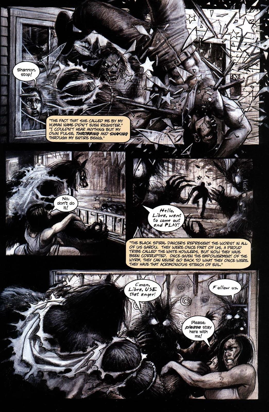 Read online Werewolf the Apocalypse comic -  Issue # Black Furies - 7