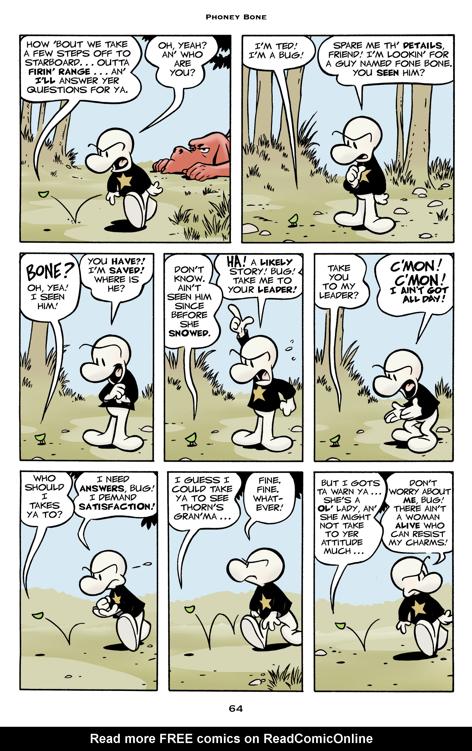 Read online Bone: Out From Boneville comic -  Issue # TPB - 64