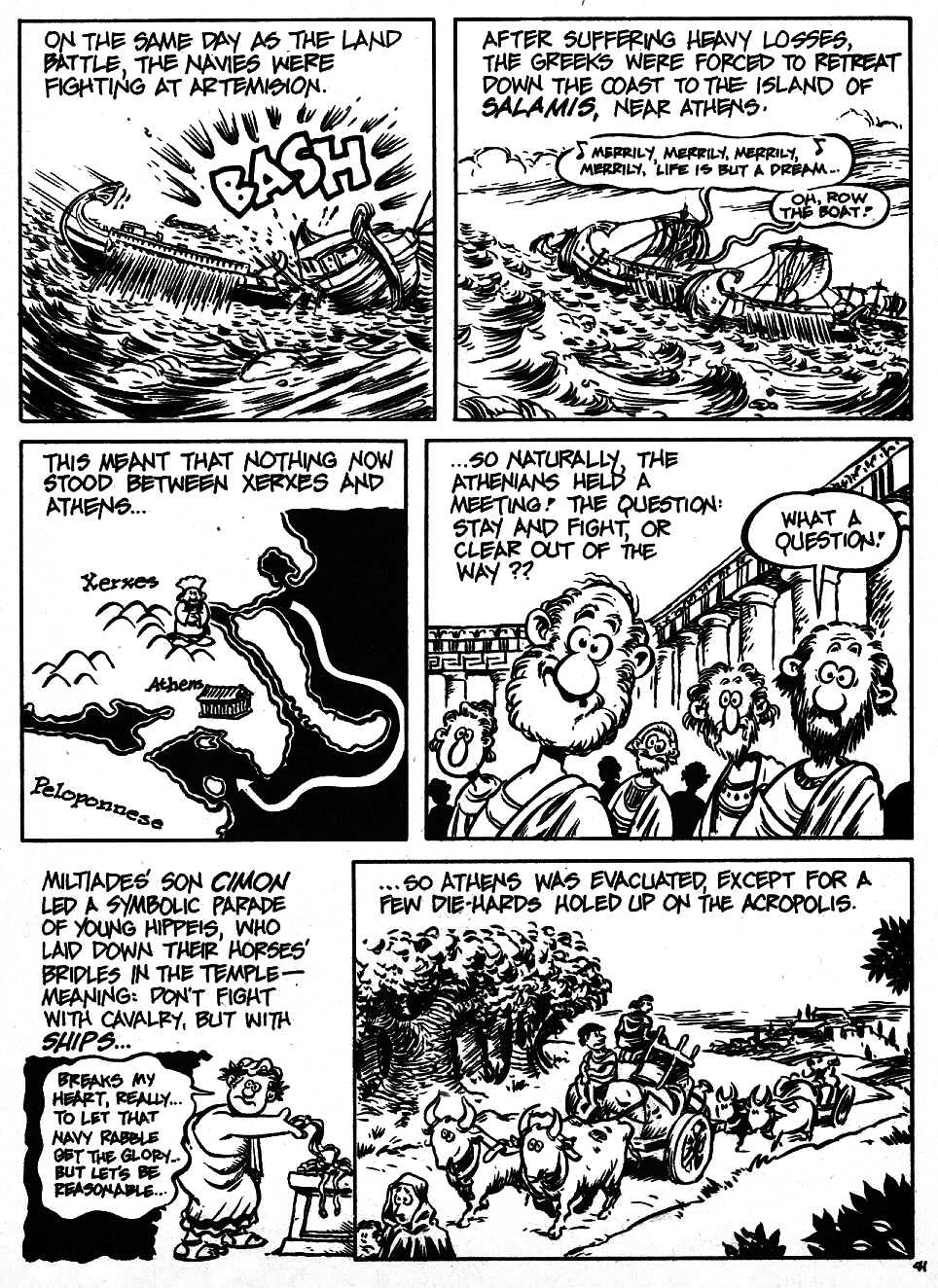 Read online The Cartoon History of the Universe comic -  Issue #6 - 43