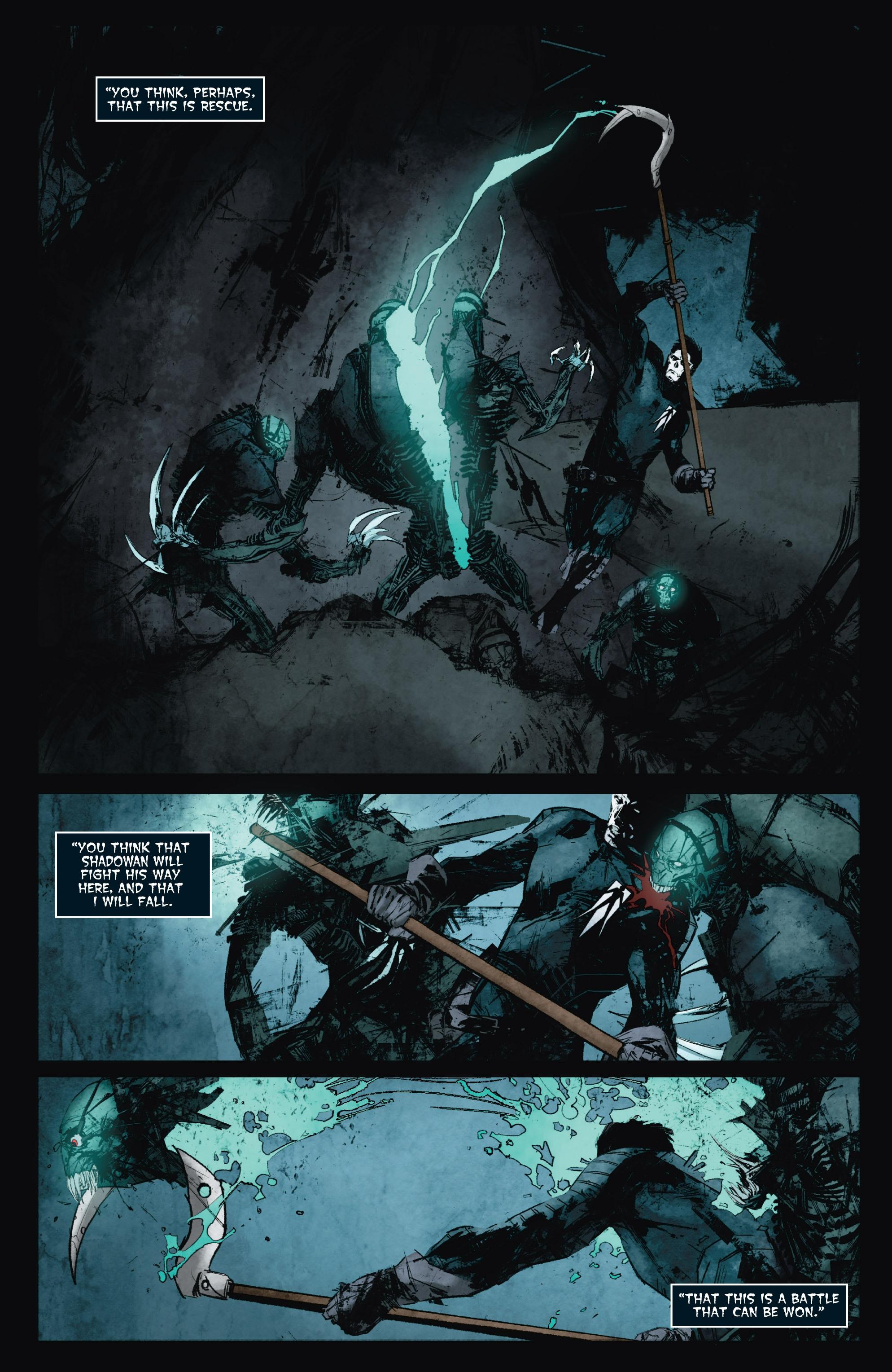 Read online Shadowman (2012) comic -  Issue #8 - 22