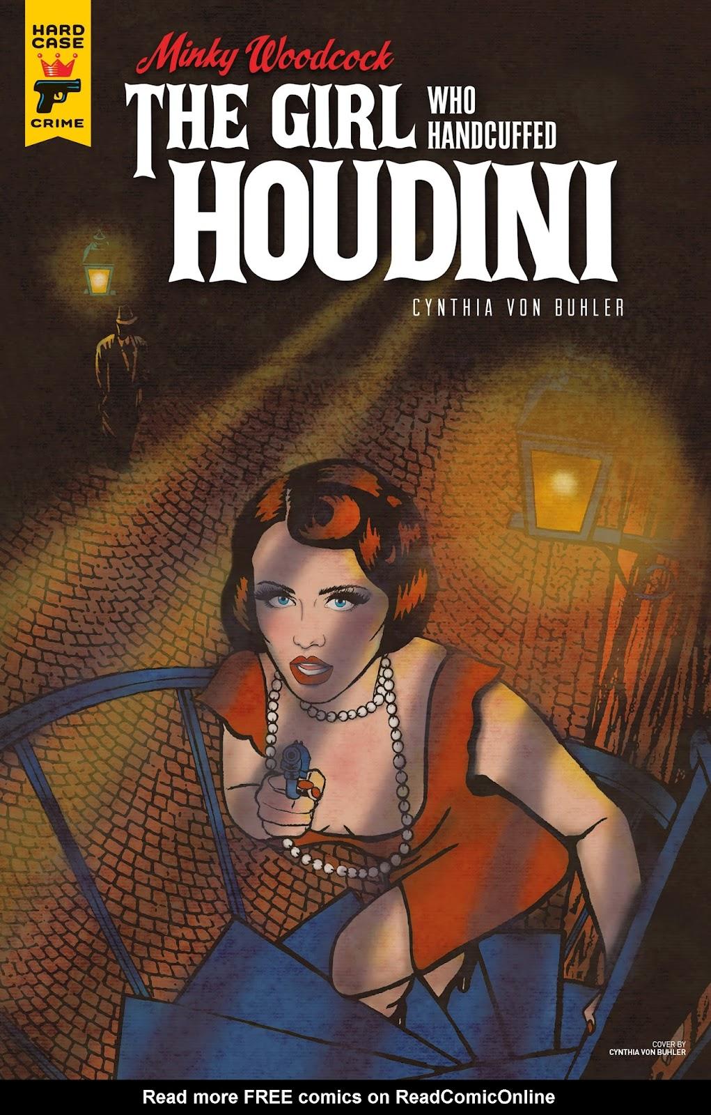 Minky Woodcock: The Girl who Handcuffed Houdini issue 3 - Page 1