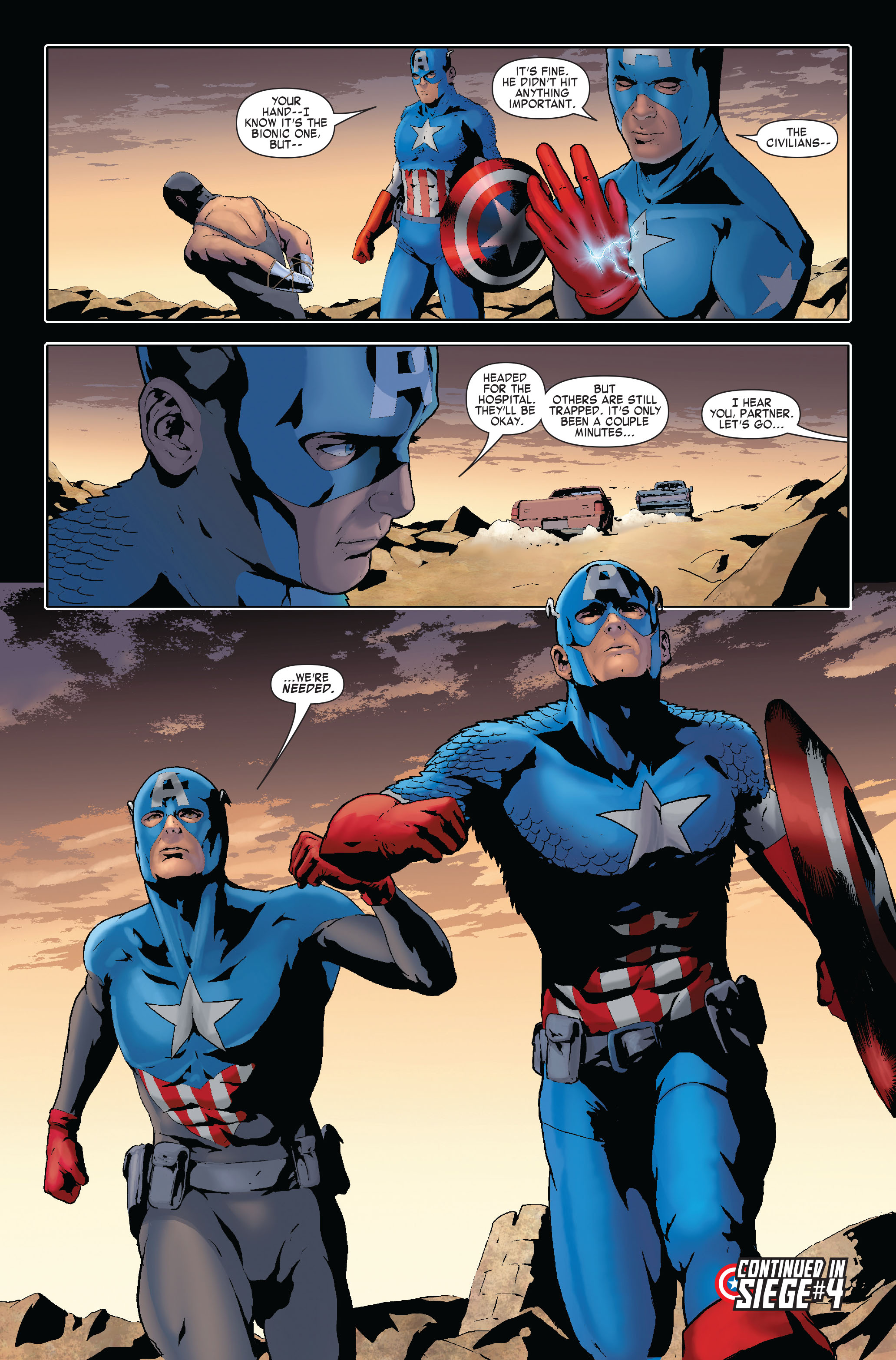 Read online Siege: Captain America comic -  Issue # Full - 23