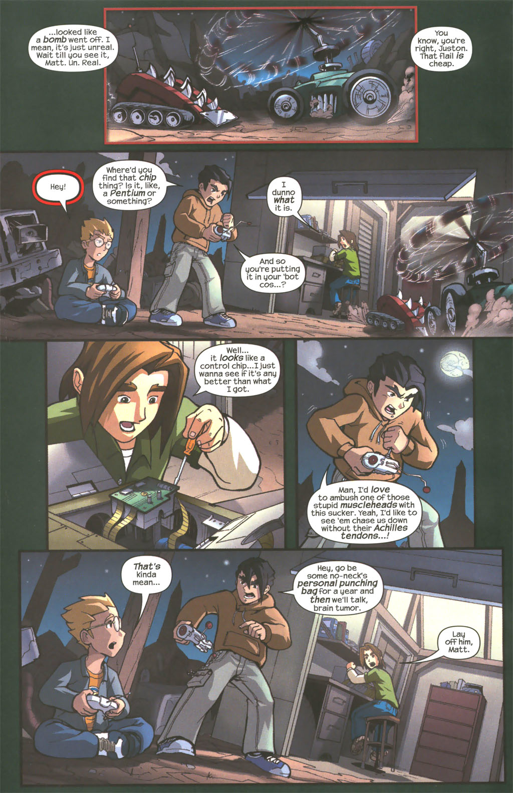 Read online Sentinel comic -  Issue #1 - 17
